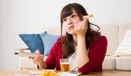 食べ過ぎ・ため込み便秘タイプ